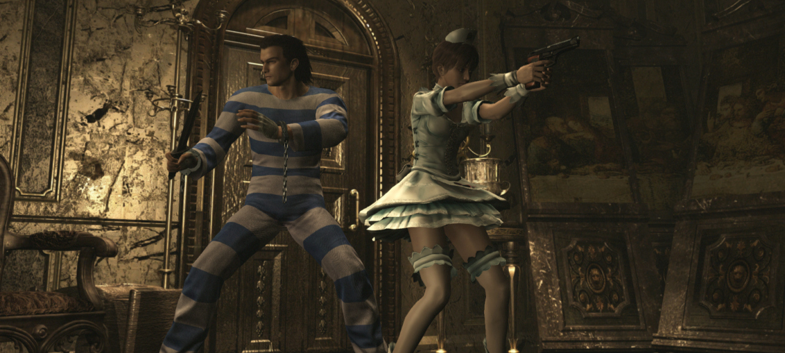 Photo of Resident Evil Origins Collection ofera costume pentru Street Fighter