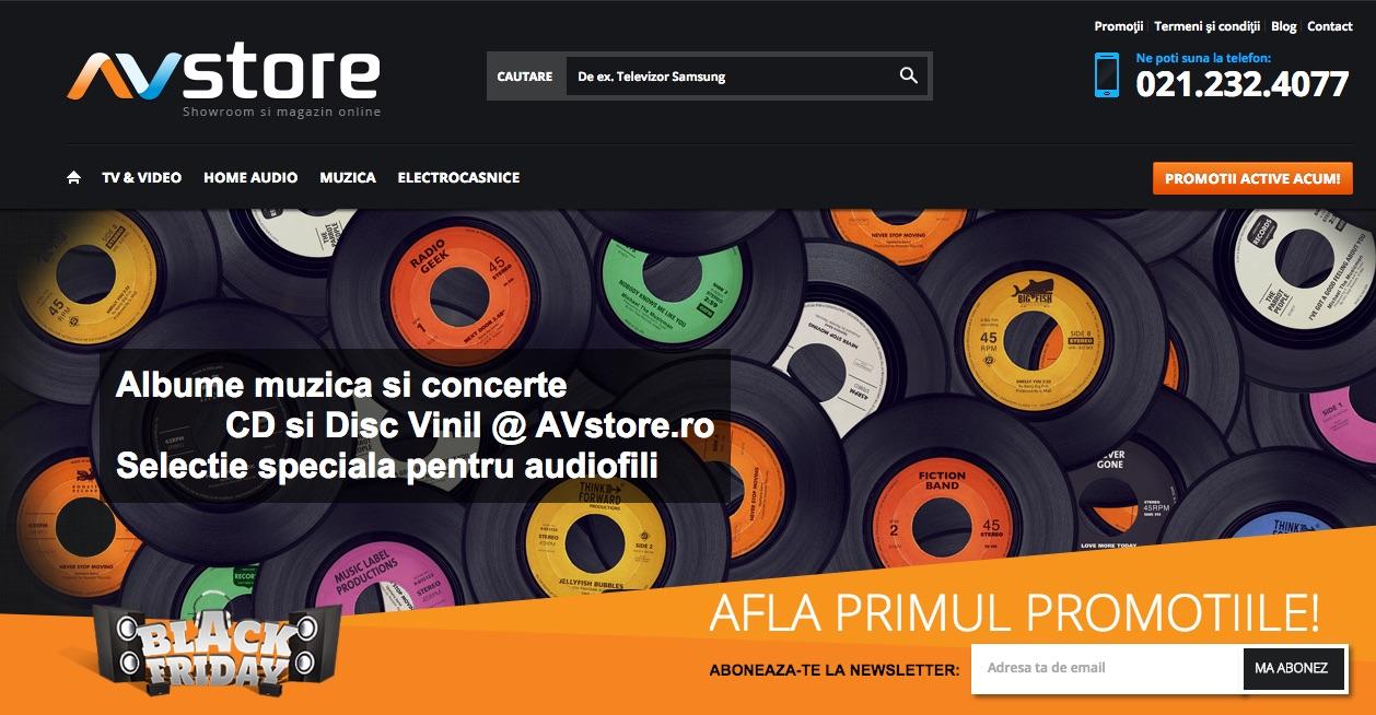 Photo of Audiofililor… ati auzit? AVstore are campanie de Black Friday!