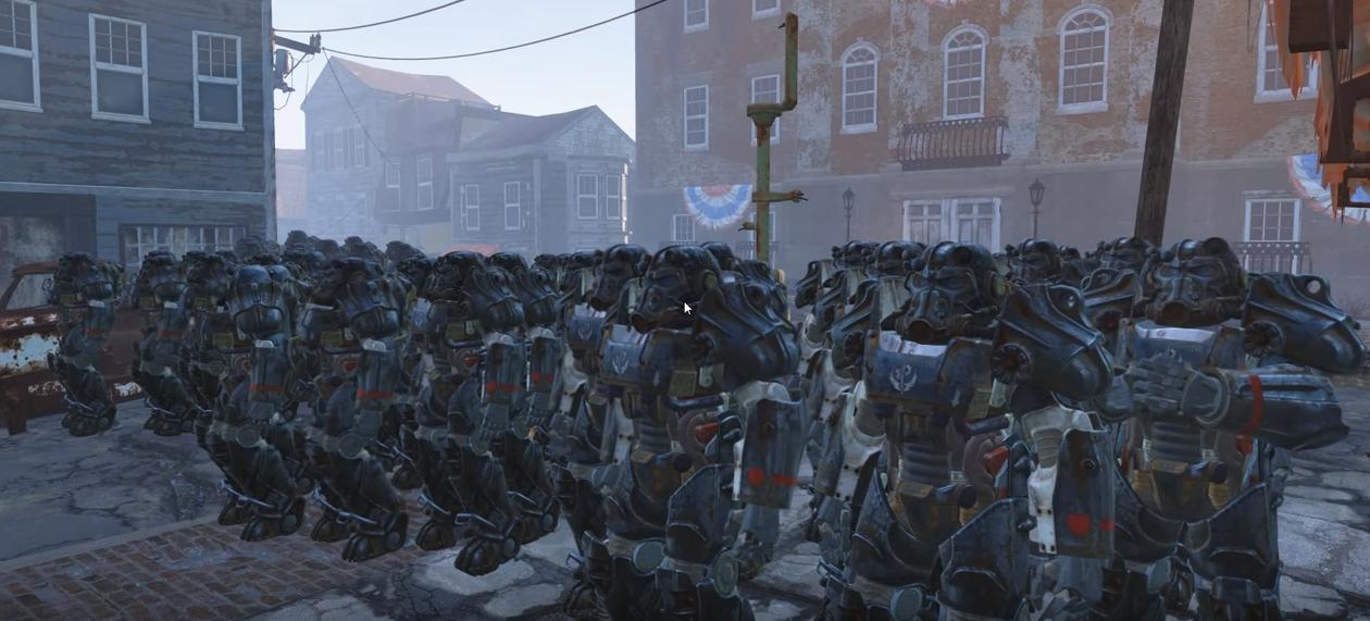 Photo of 1000 Deathclaws versus 100 Brotherhood of Steel