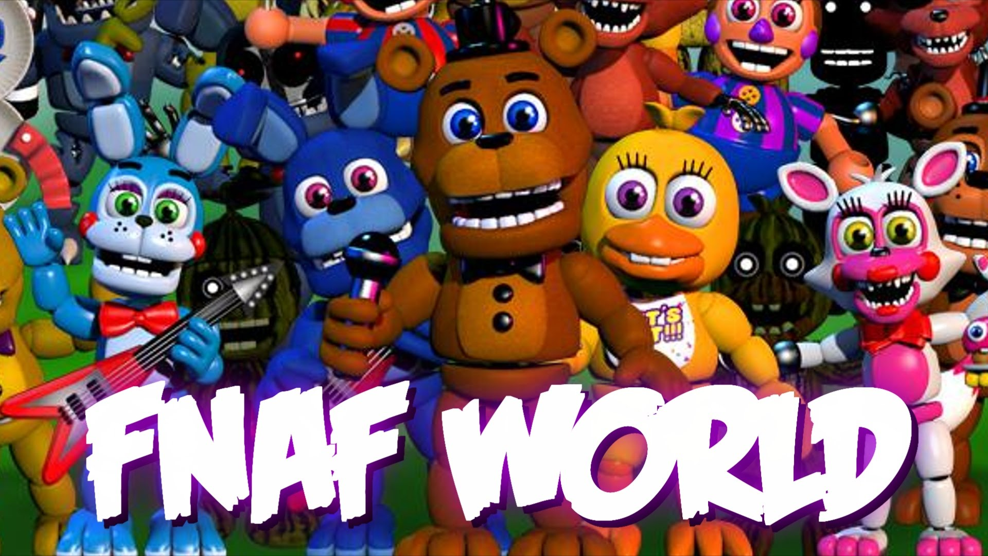 Photo of Five Nights at Freddy's World intra in Greenlight