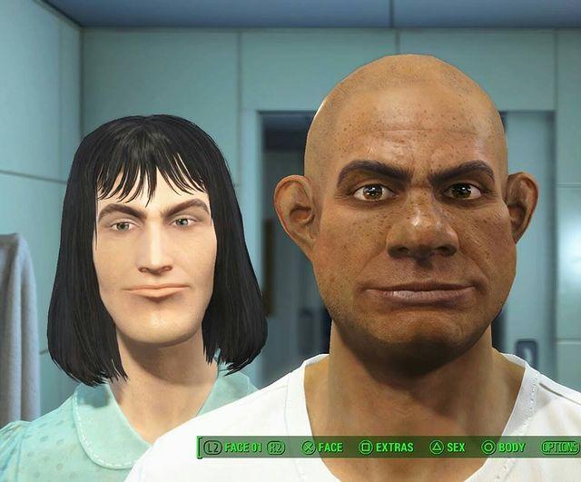 Shrek and Lord Farquaad