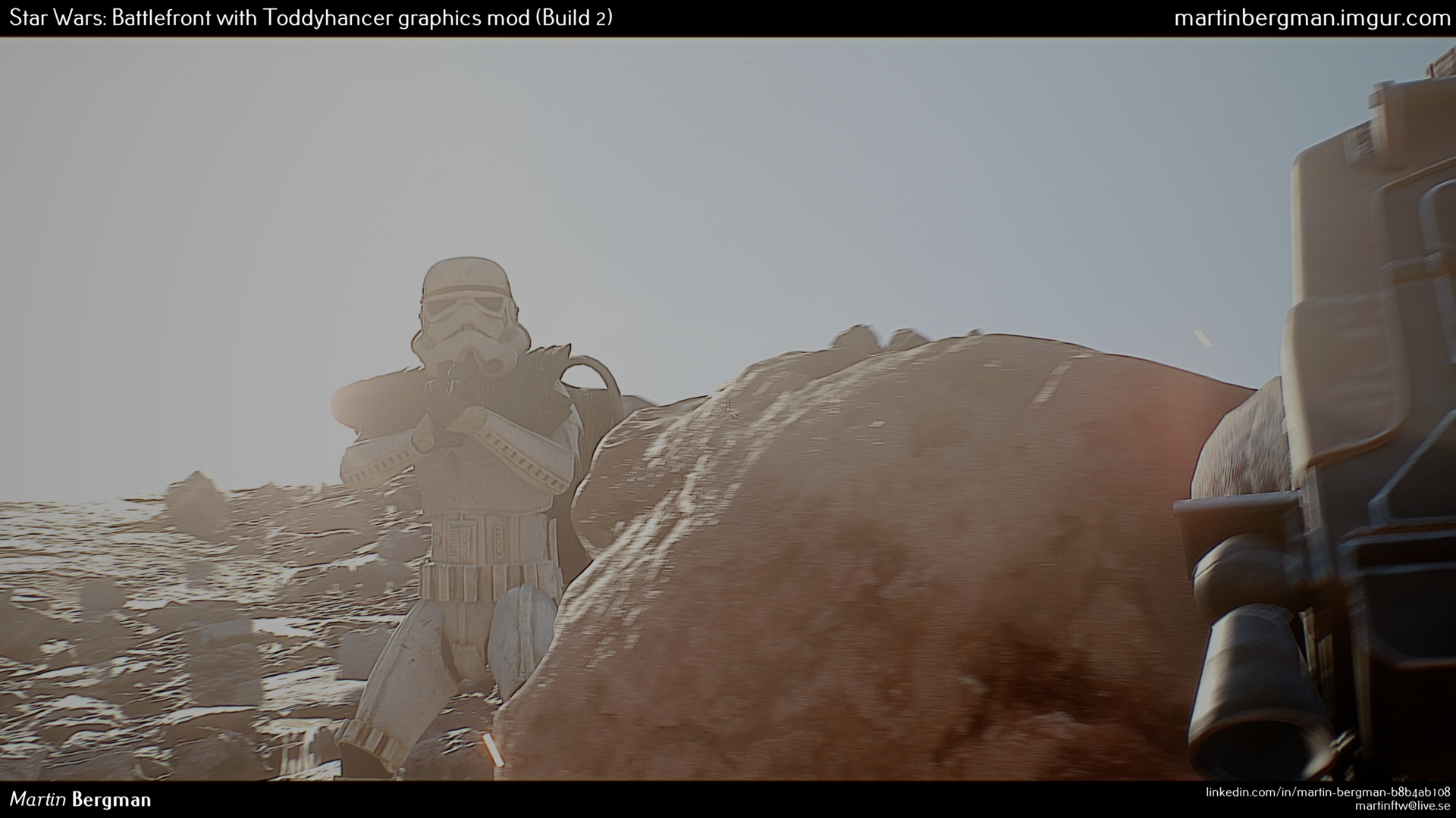 Photo of Star Wars Battlefront modat arata mai bine ca filmul!