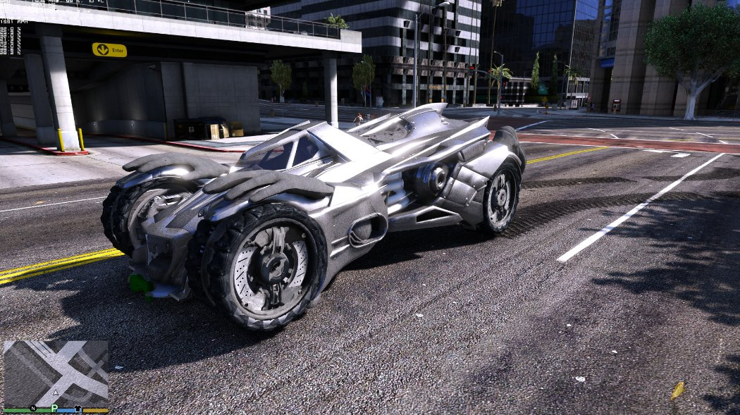Photo of Un Batmobil in Los Santos? Da va rog!