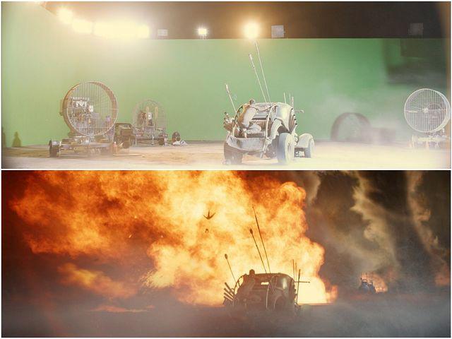 efecte speciale Mad Max