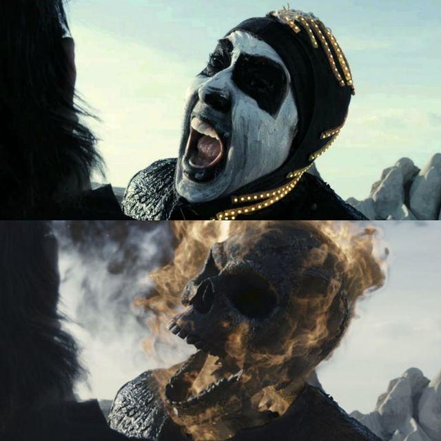 efecte speciale ghost rider