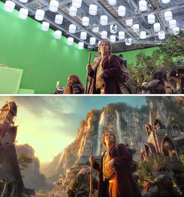 efecte speciale hobbit