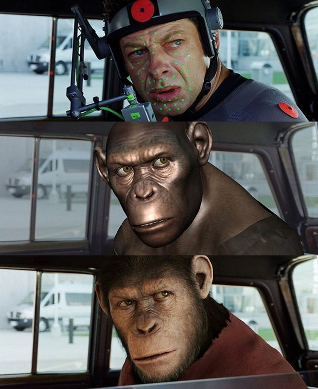 efecte speciale planet of the apes