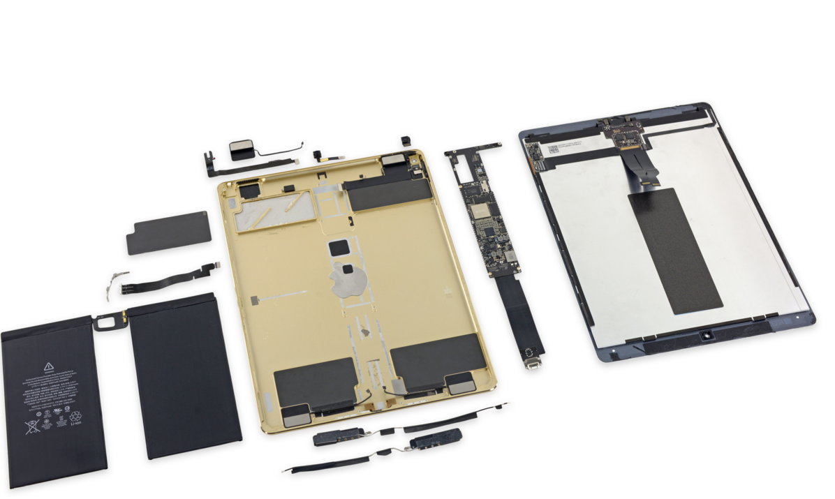Photo of iPad Pro dezmembrat si catalogat de iFixit
