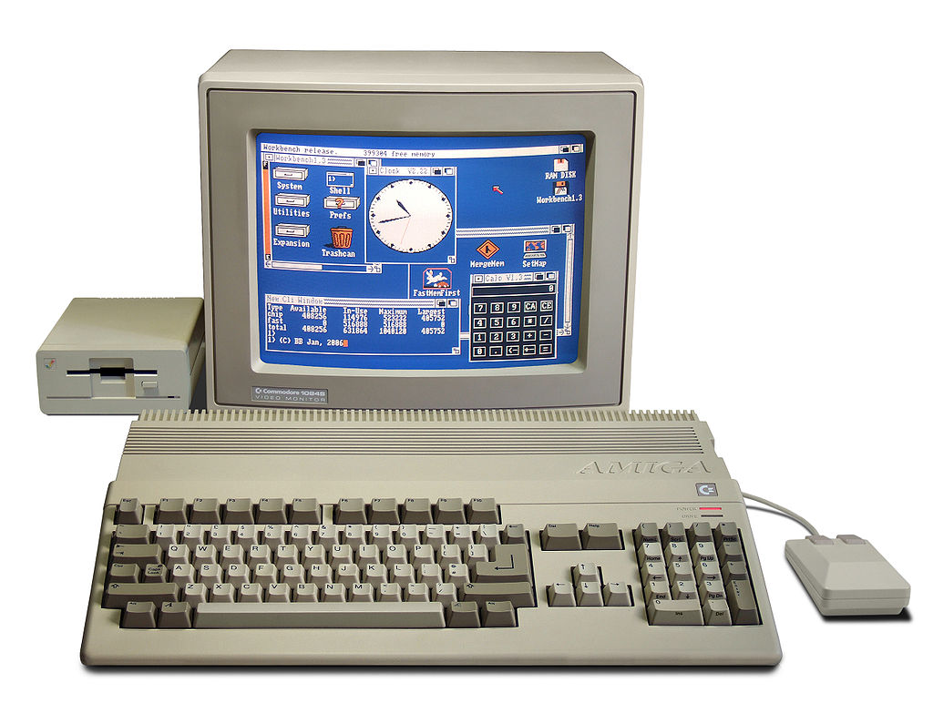 Photo of Amiga 500 renaste in Chrome