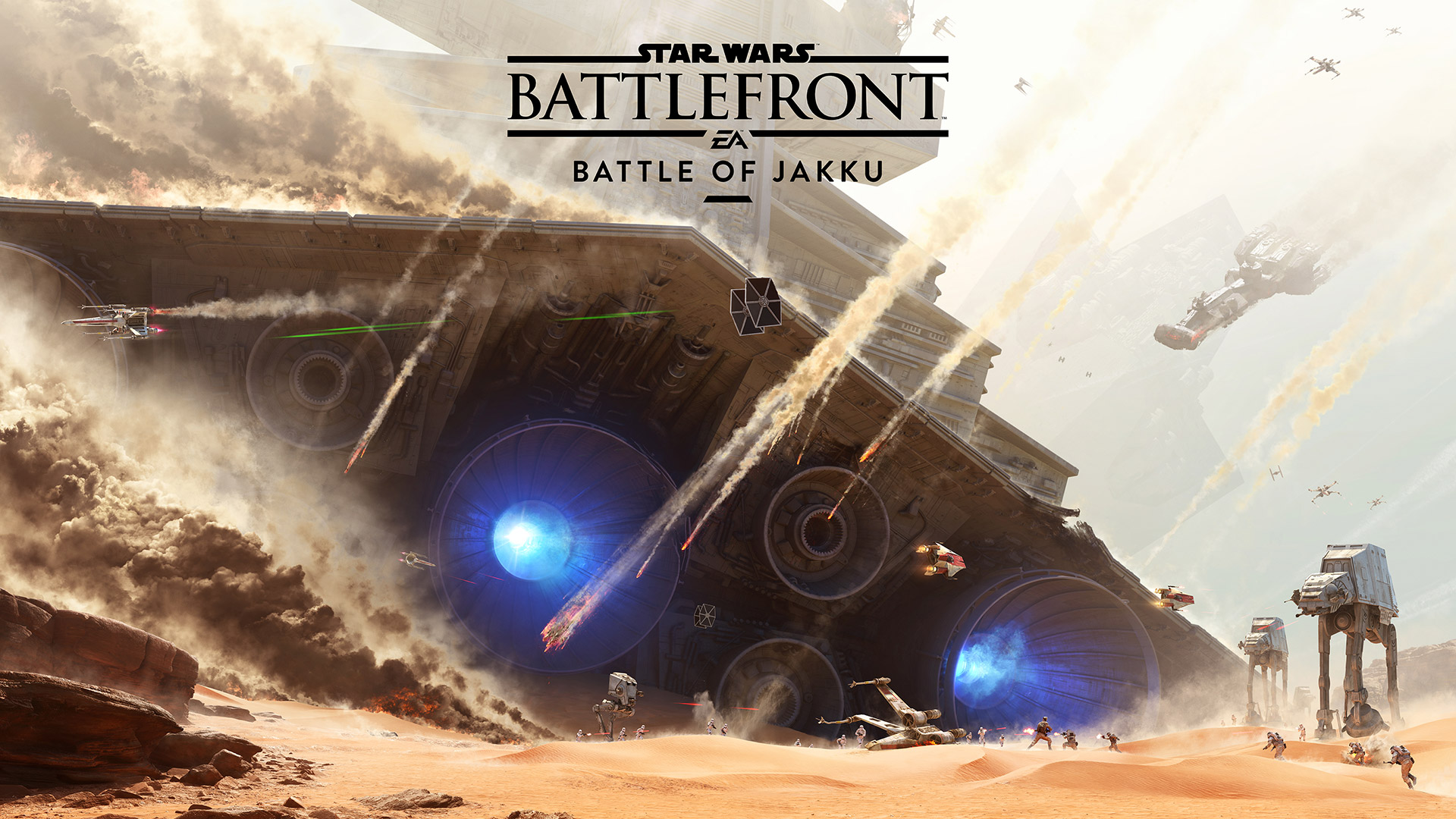 Photo of Star Wars Battlefront: Battle of Jakku are un gameplay trailer