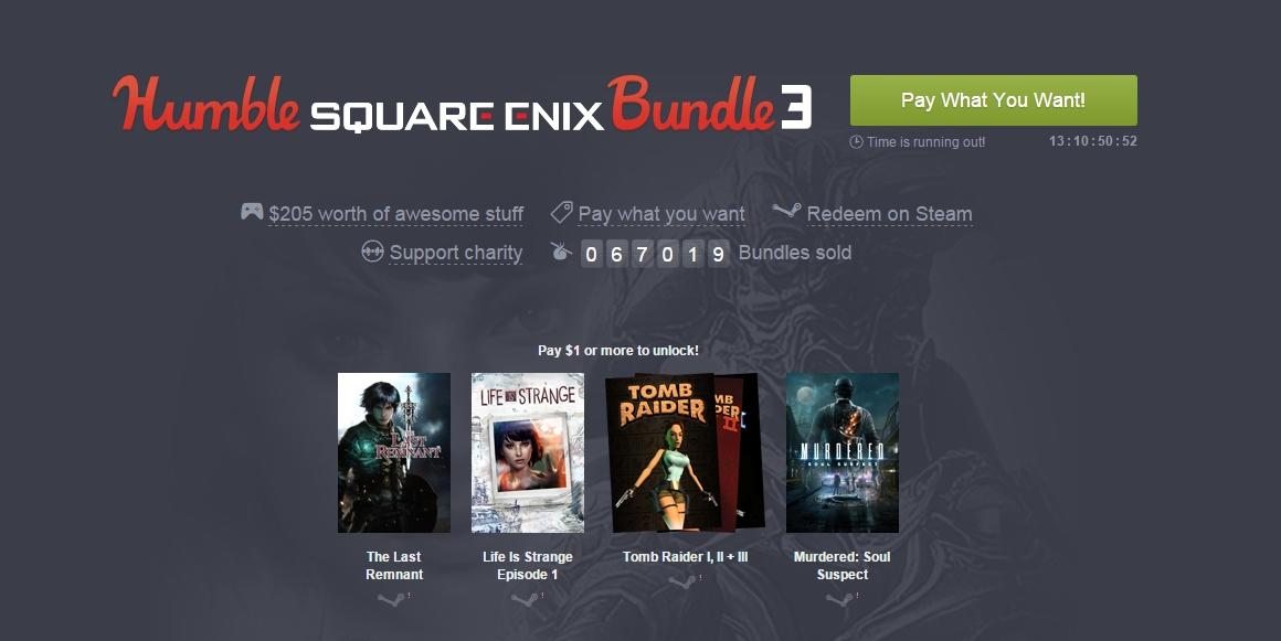 Photo of Humble Square Enix Bundle