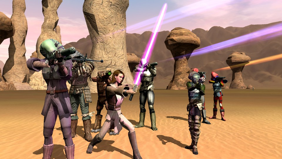 Photo of Un RPG Star Wars Open World apare pe Kickstarter