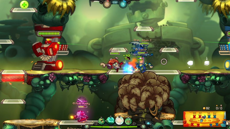 Photo of Awesomenauts Overdrive anuntat