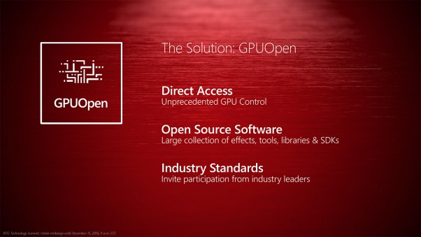 Photo of AMD anunta GPUOpen, o alternativa pentru Nvidia GameWorks