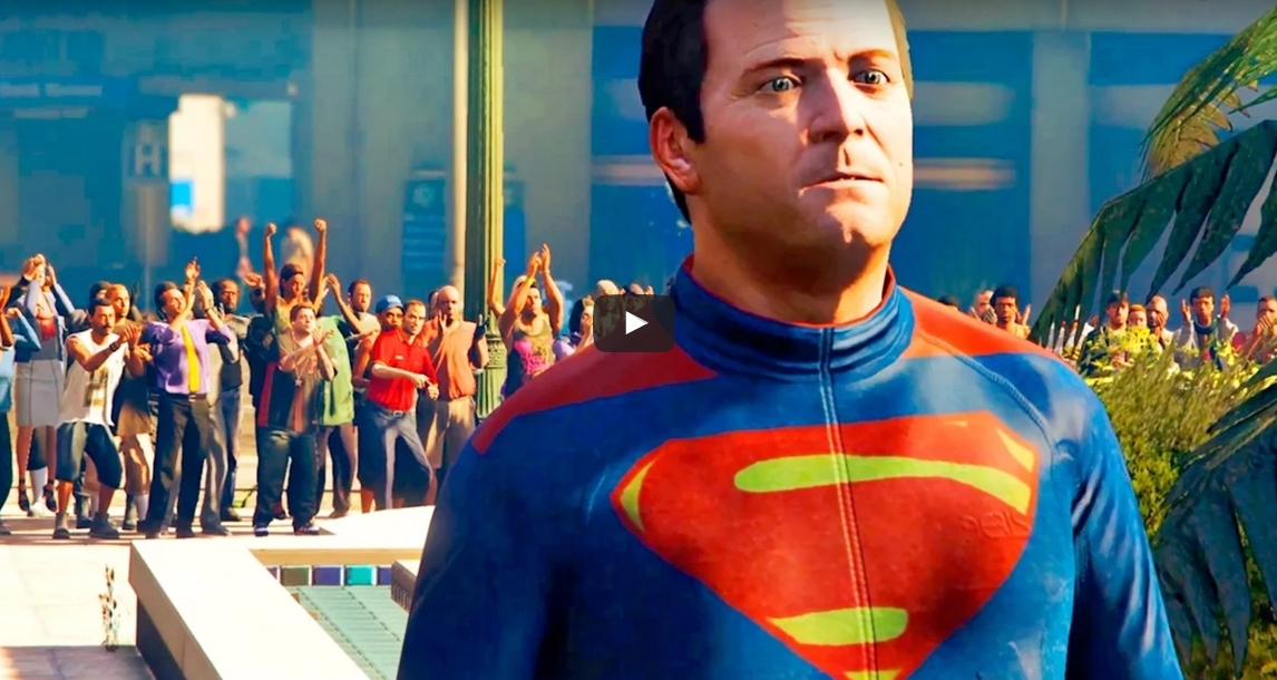 Photo of Trailer-ul Batman v Superman: Dawn of Justice recreat in GTA V