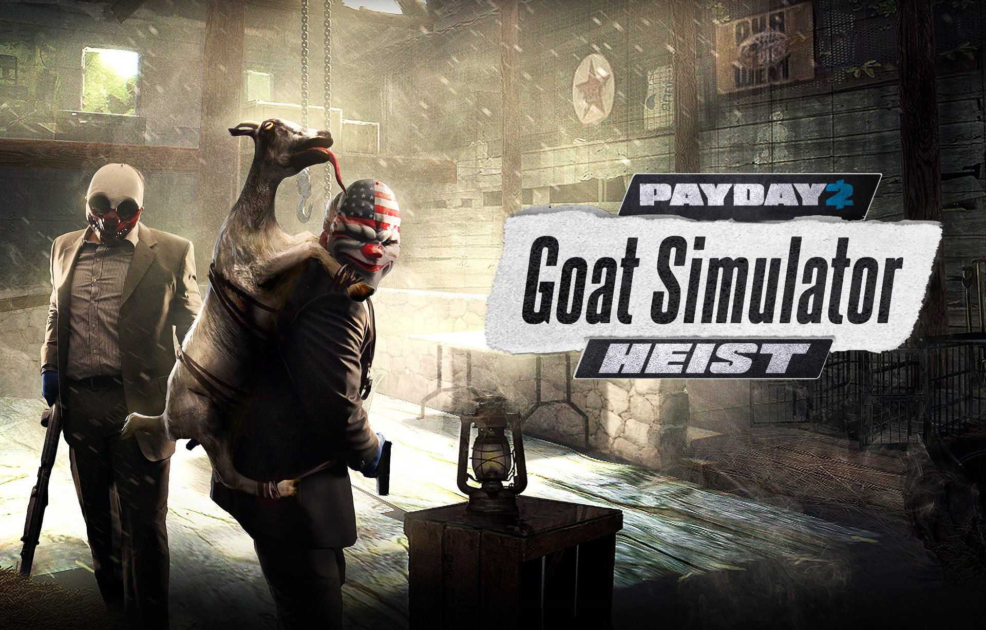 Photo of Goat Simulator invadeaza Payday 2