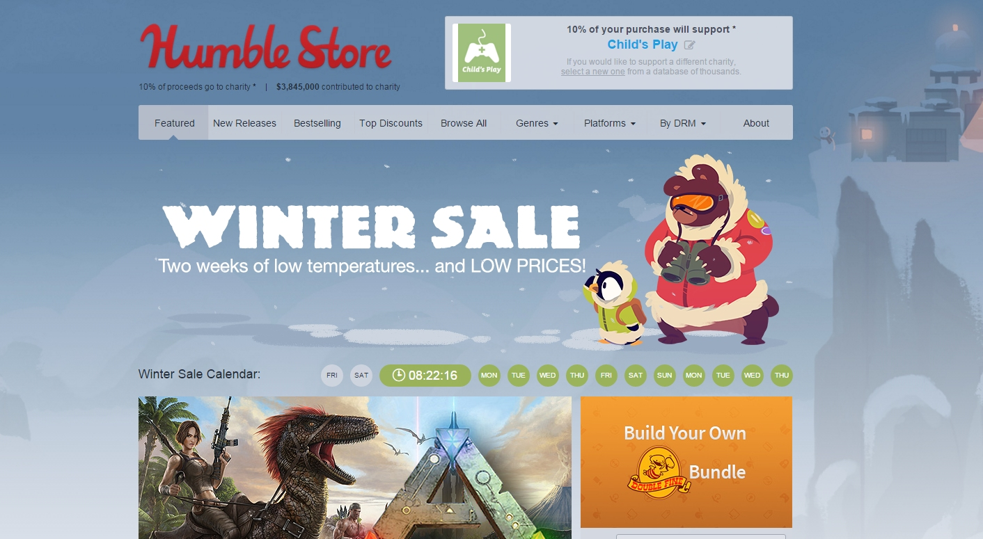 Photo of Reduceri de iarna pe Humble Bundle