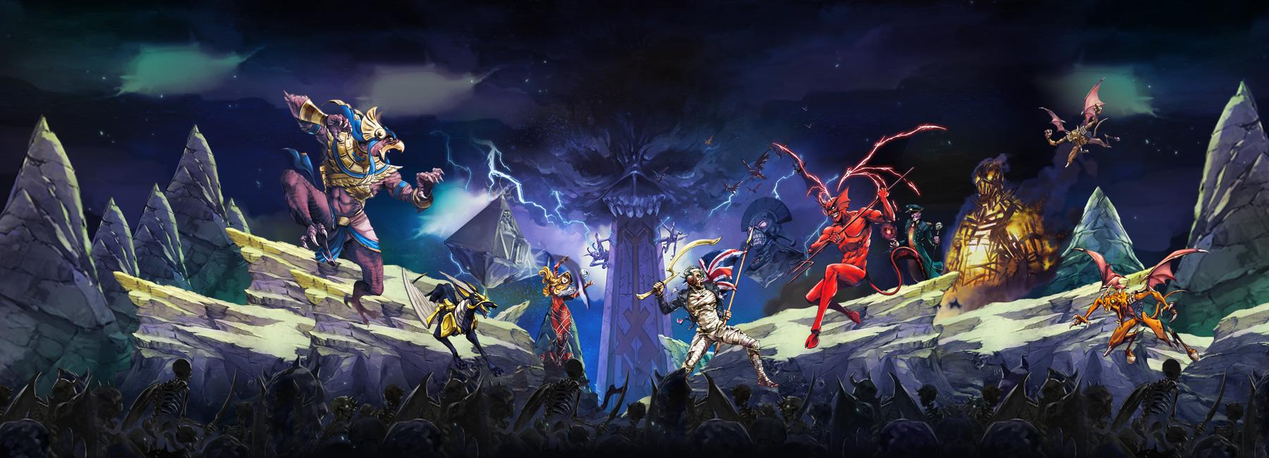 Photo of Iron Maiden are un RPG… pentru mobile