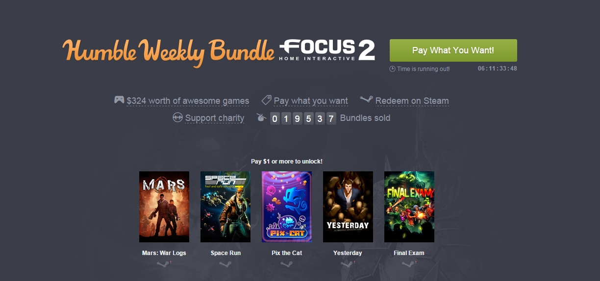 Photo of Humble Focus Home Interactive Bundle
