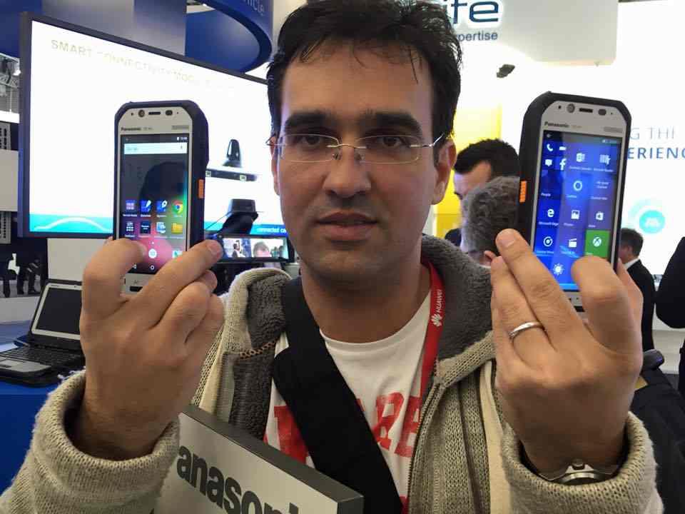 Doua noi telefoane durabile Panasonic la MWC 2016