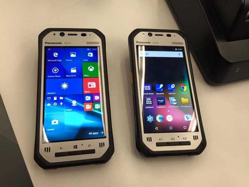 Fata telefoanelor Panasonic Toughpad FZ-N1 si FZ-F1 la MWC 2016