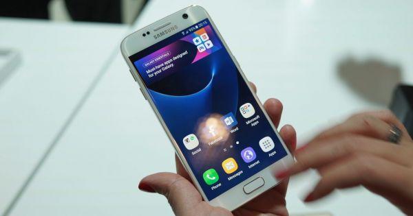 Galaxy S7 in varianta alba