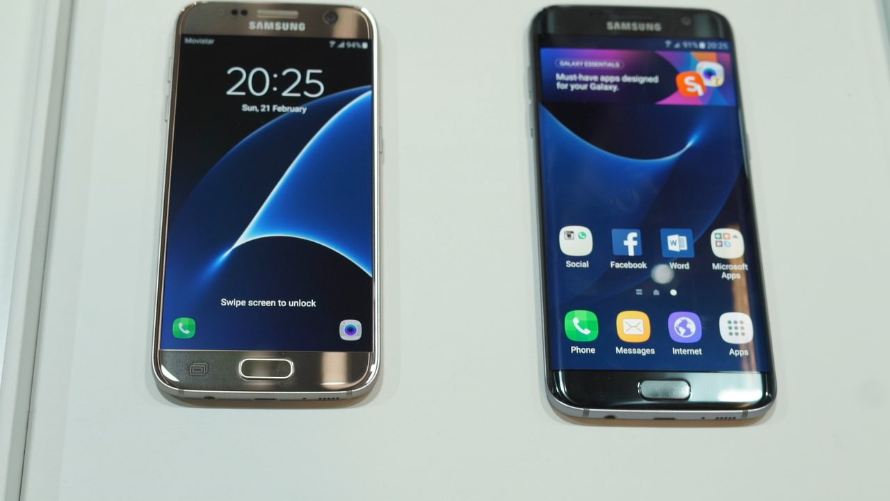 Photo of Hands-on cu Samsung Galaxy S7 si S7 Edge la Mobile World Congress 2016