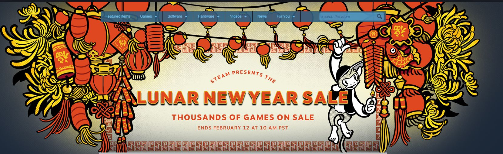 Photo of Steam Lunar Sale. Reduceri masive pe Steam
