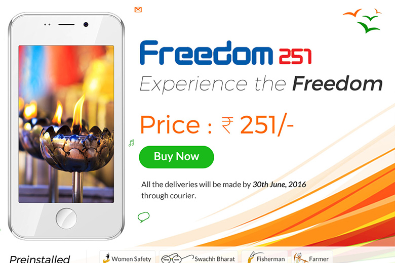 freedom 251 new