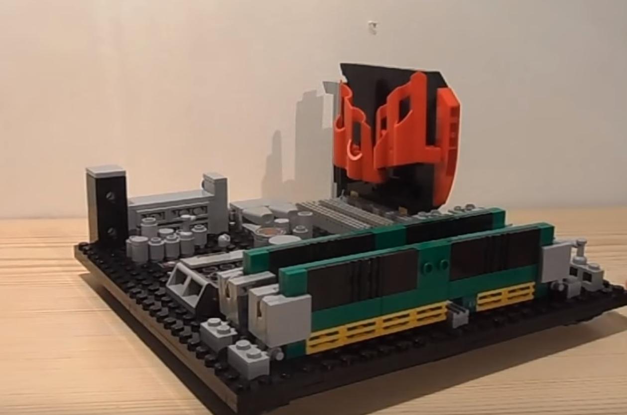 Photo of Cineva si-a facut un sistem din piese de Lego …