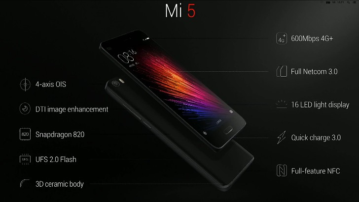 Photo of Xiaomi Mi 5 a fost lansat la MWC 2016