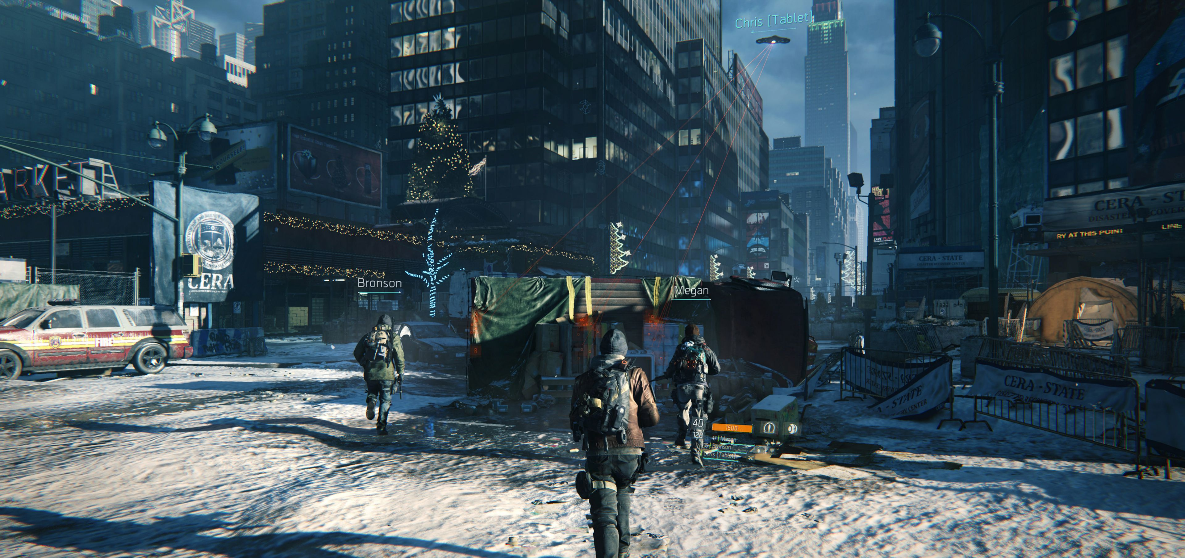 The Division Review multiplayer
