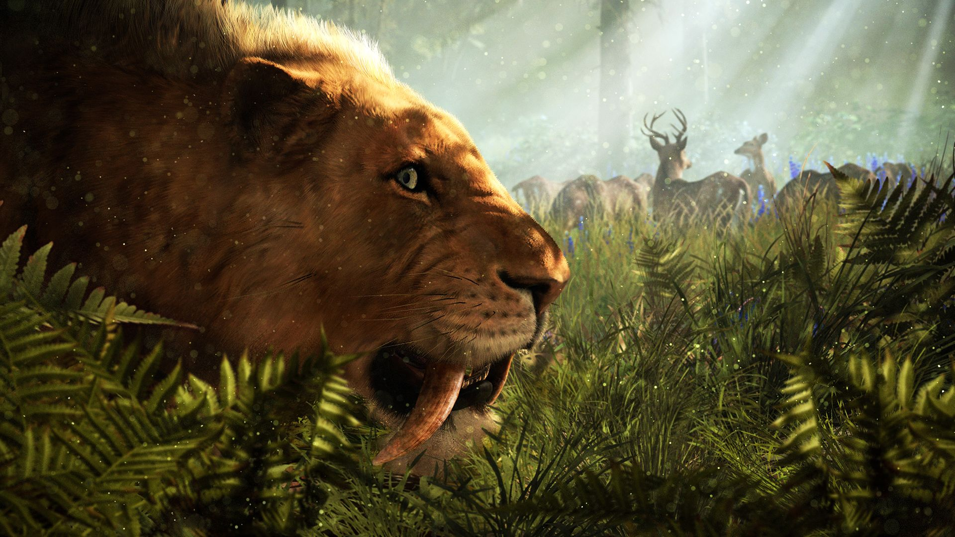 in review Far Cry Primal: animalele