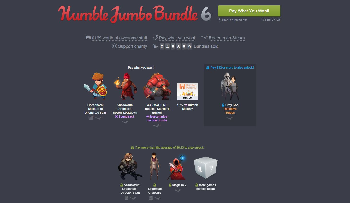 Photo of Humble Jumbo Bundle Revine