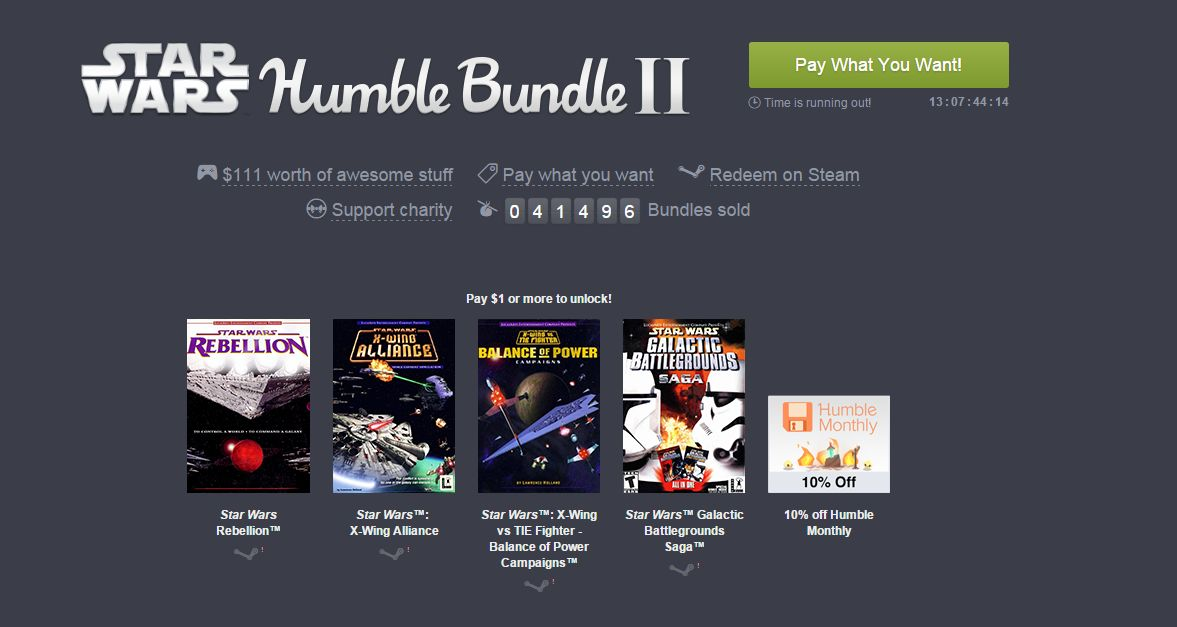 Photo of Humble Star Wars Bundle