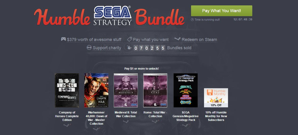 Photo of Sega revine pe Humble Bundle