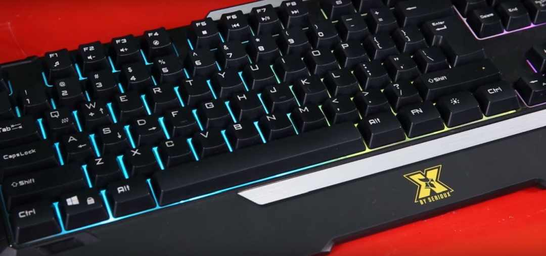 X by Serioux Keriam Gaming Keyboard