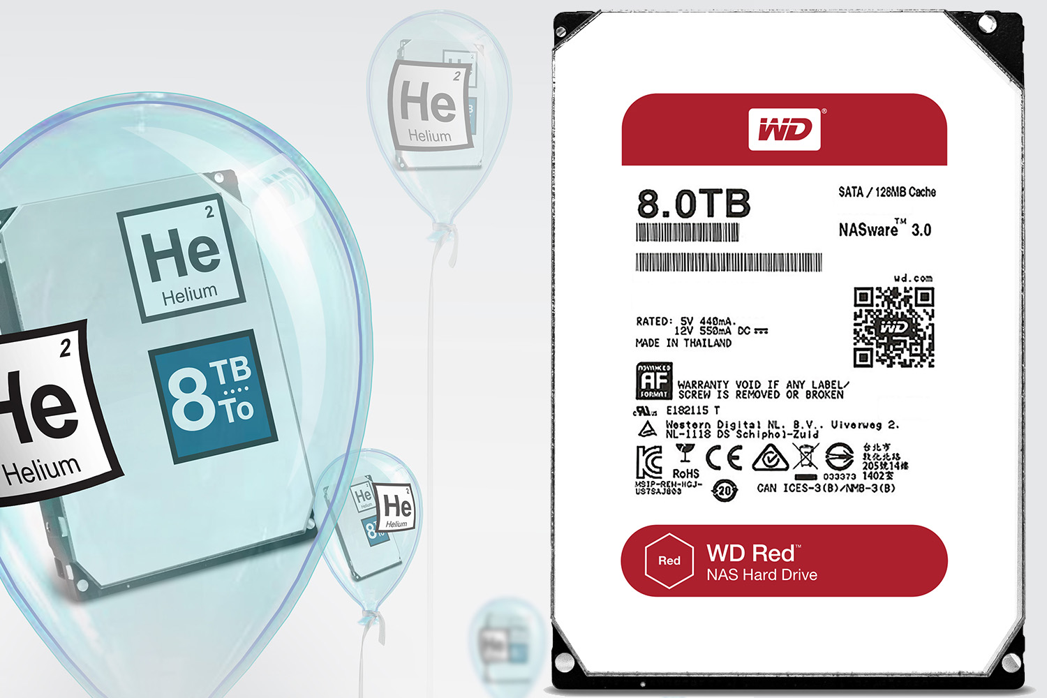 Photo of HDD-uri de 8TB de la Western Digital