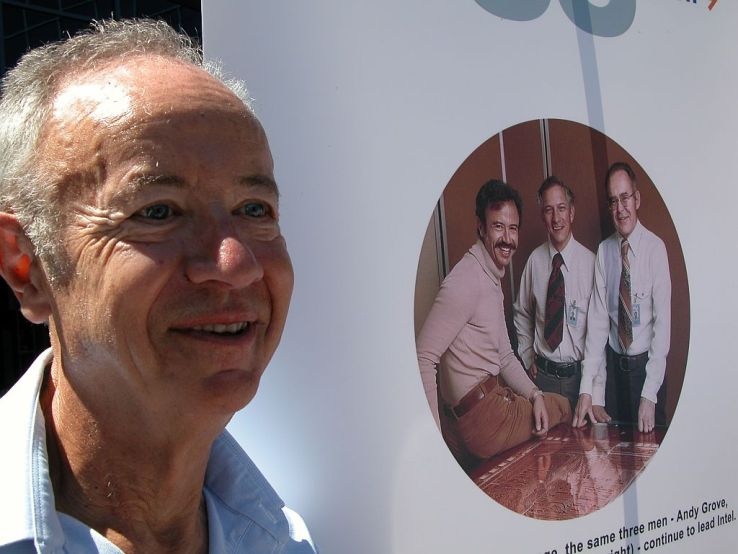 Photo of Andy Grove, primul angajat al Intel, a decedat