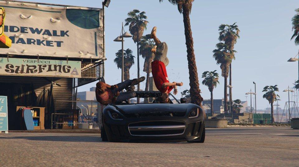 Photo of GTA 5 refacut cu fizica lui GTA 4