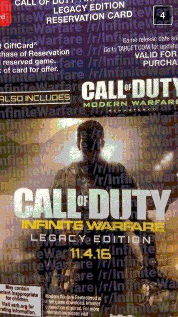 call of duty modern warfare elgacy