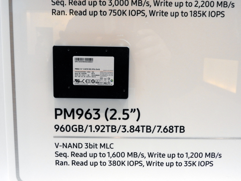 Photo of Samsung are un SSD de 7.68TB
