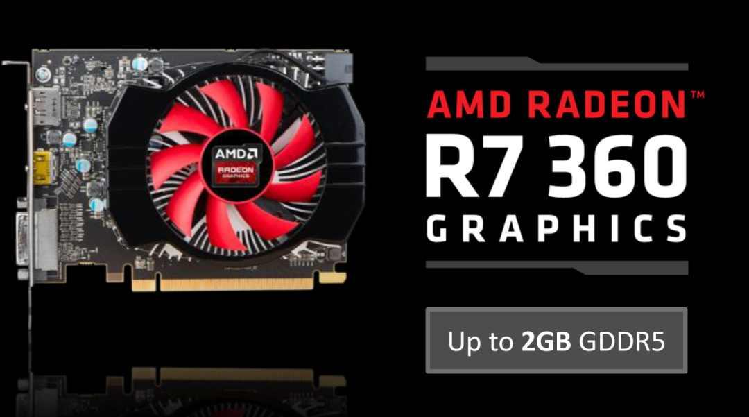AMD Radeon HD r7 360 reference