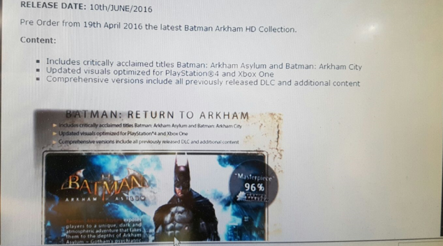 Photo of Batman Arkham HD Collection a fost zarit