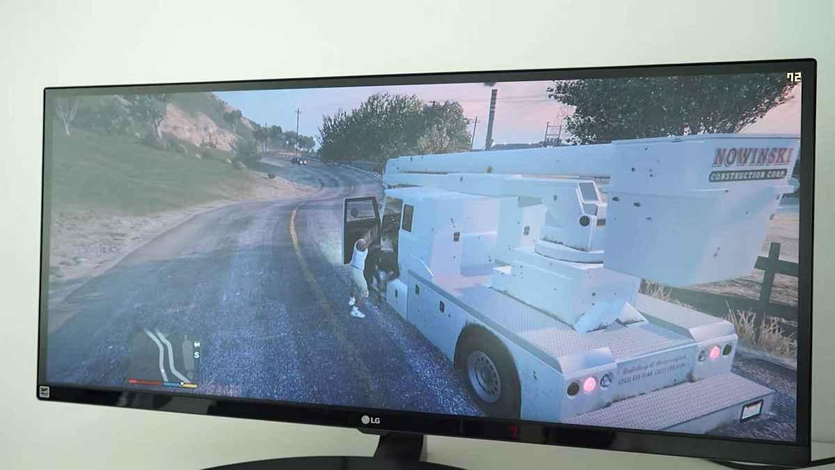 Asus Republic of Gamers GTA 5 in 4K