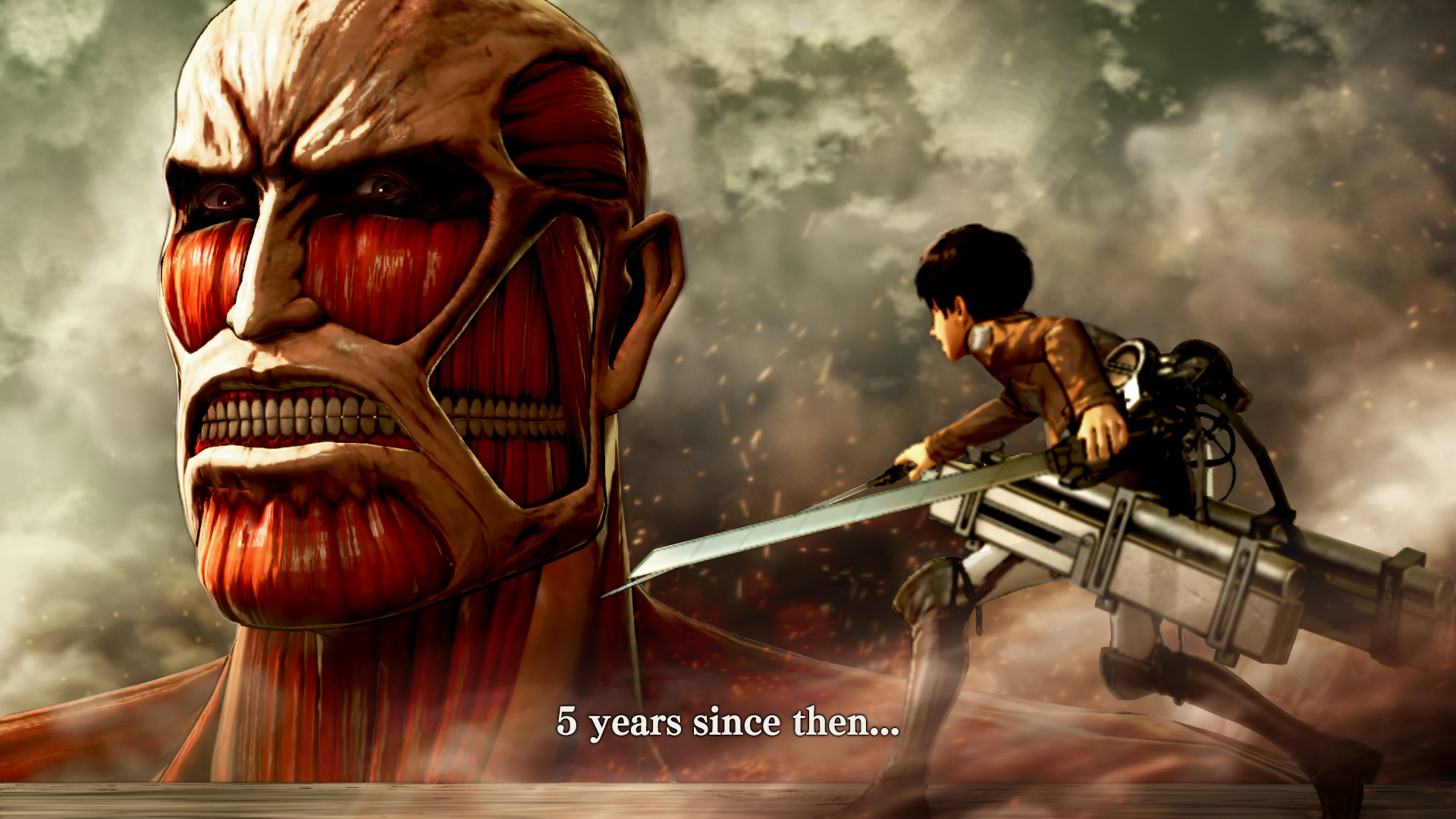 Photo of Attack on Titan capata un joc oficial