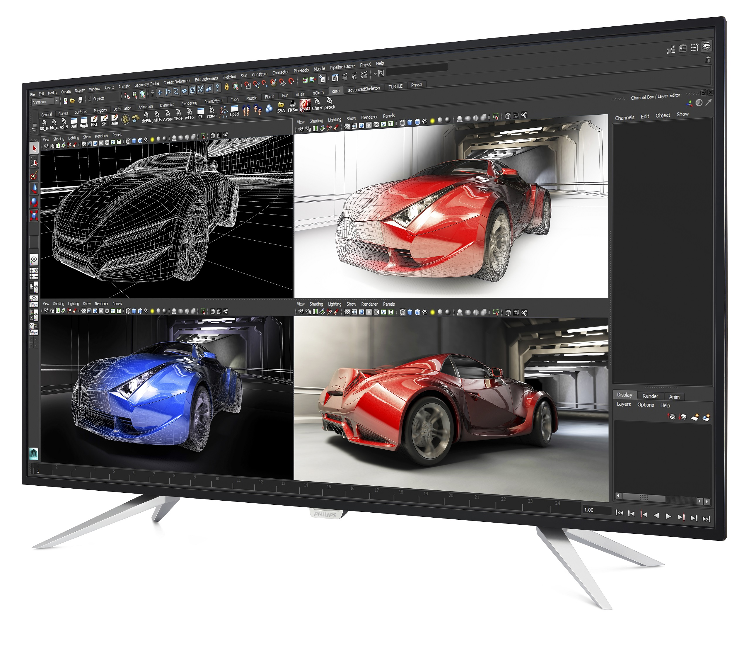 Photo of Philips anunta un monitor 4K de 43 inch