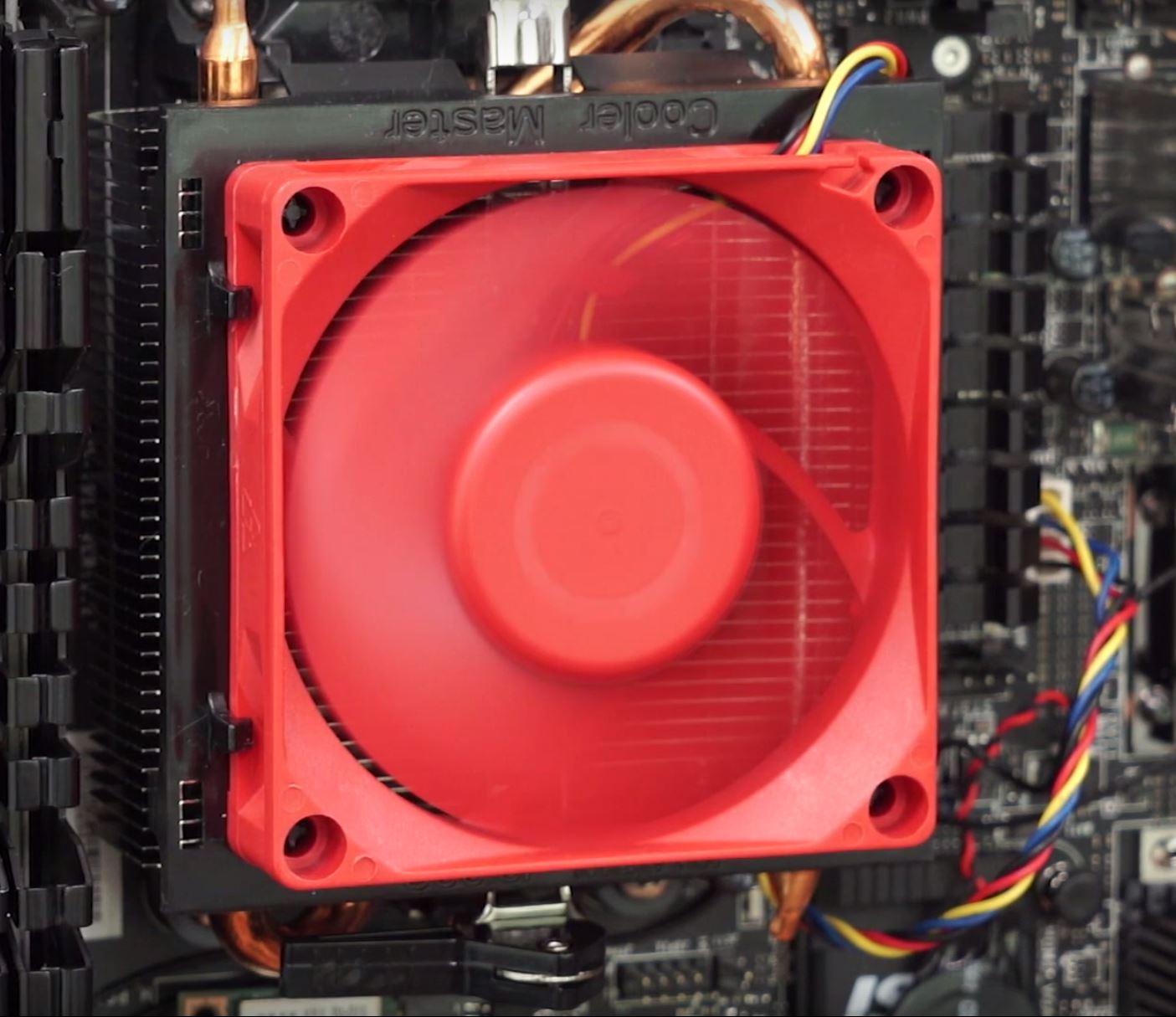 Cooler APU AMD A10-7860K