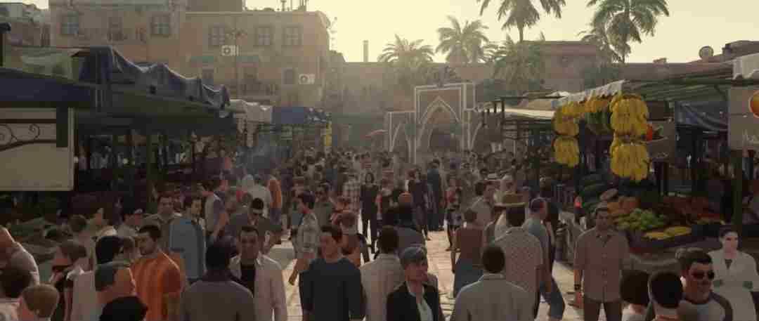 Densitatea populatiei in Hitman Episode 1