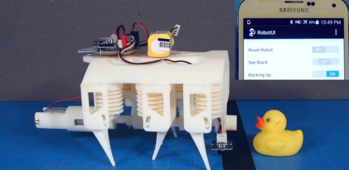 Photo of Acum poti imprima hidraulice si roboti
